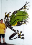 Used car part sculptures
